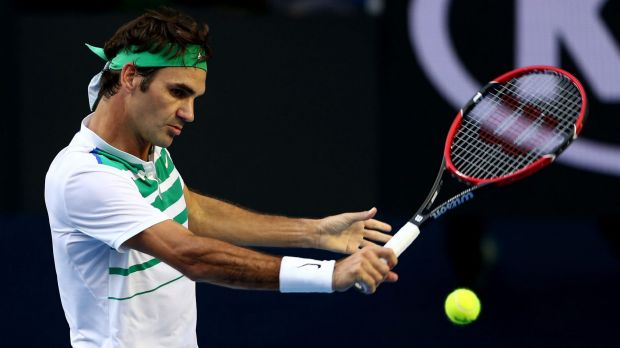 Evergreen: Roger Federer of Switzerland.