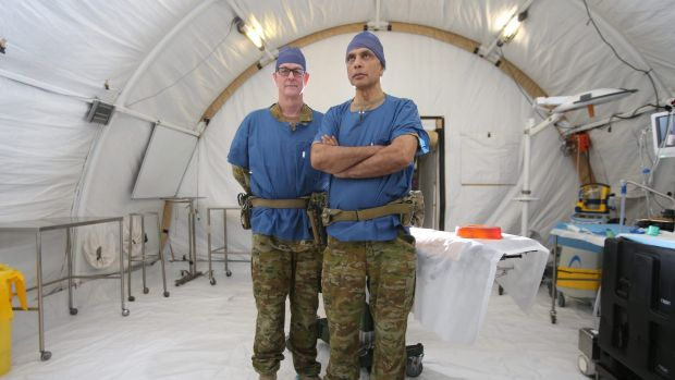 Dr Rudd and Dr Dave are specialist reservists.