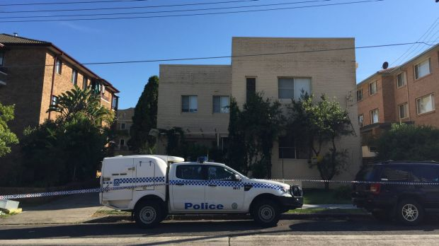 Police have taped off the apartment block on Waratah Street in Cronulla, where a pregnant teen was kicked in the stomach.