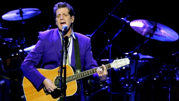 Glenn Frey from US rock band The Eagles performing at The Superdome, Homebush, Sydney.