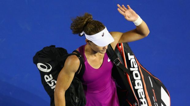 Samantha Stosur has not been hitting the ball well, according to Todd Woodbridge.