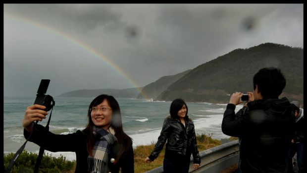 Australia received more than 1 million Chinese visitors in the 12 months ended November 30.
