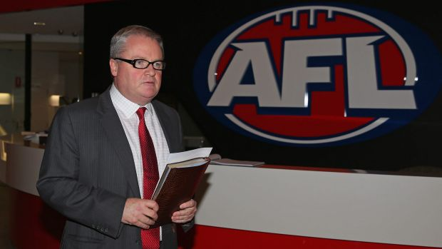 Legal view: Western Bulldogs president Peter Gordon is helping to determine if an appeal should be lodged.