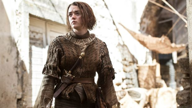 Arya Stark (Maisie Williams) in <i>Game of Thrones</i> season 5.