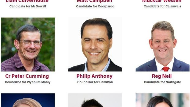 "Labor also jumped the election gun when it referred to its candidate as ""Philip Anthony - Councillor for Hamilton""??."