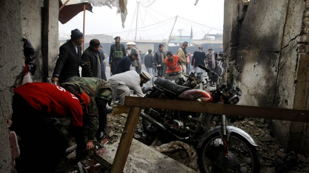 The suicide attack targeted a police checkpoint in northwestern Pakistan, a local government official said.