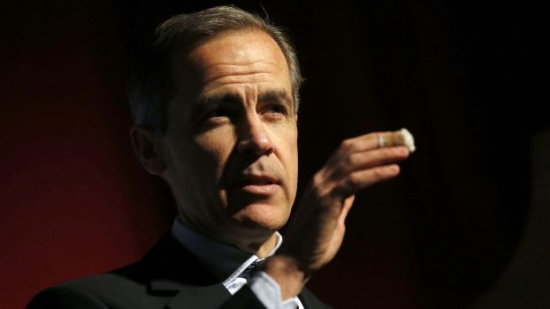 The Governor of the Bank of England, Mark Carney.