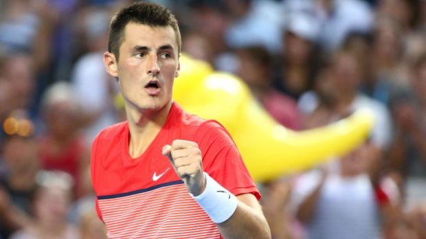 Bernard Tomic in the first round.