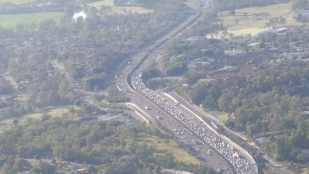 The Pacific Motorway is earmarked for an upgrade.