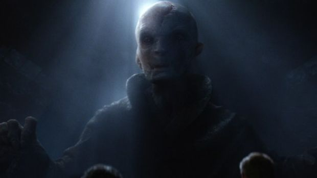 Donald Trump may have a kindred spirit in Supreme Leader Snoke, from the latest Star Wars movie.