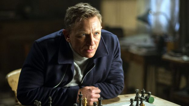 Tipped to leave the role ... Daniel Craig as James Bond in <i>Spectre</i>.