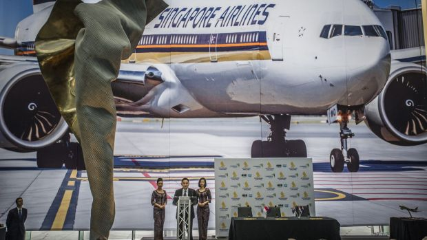 Singapore airlines launches its capital express route.
