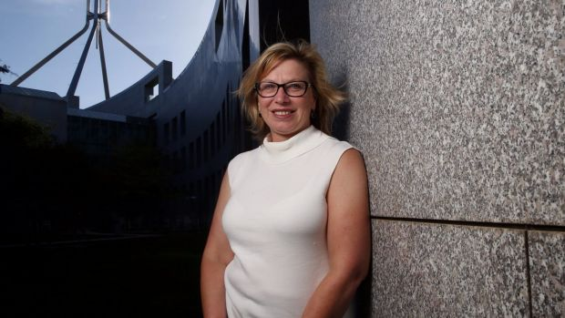 Australian of the Year Rosie Batty at Parliament House.