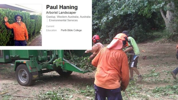 Mr Haning has no relevant qualifications listed on professional documents, his LinkedIn account or his business' website.