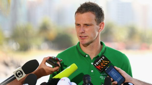 Latest signing: Socceroos defender Alex Wilkinson has joined Melbourne City.