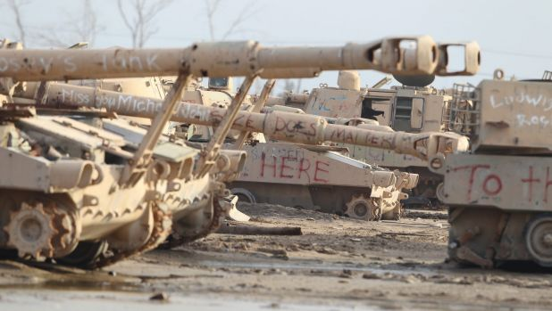 The Iraqi army suffered a series of morale-sapping defeats at the hands of the terrorist organisation in 2014 and 2015.