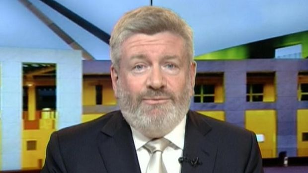 Communications Minister Mitch Fifield, rocking some fuzz.