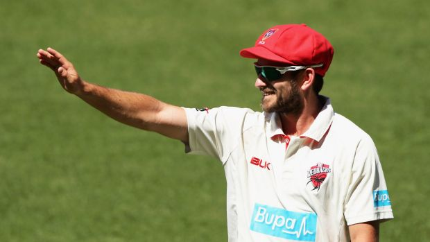 No stranger: Chadd Sayers played for Australia A in 2013 and 2014.