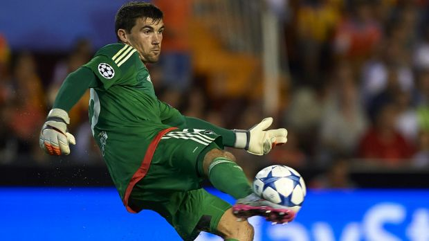 EPL bound: Brighton and Hove Albion have announced they have signed Socceroo Mat Ryan.