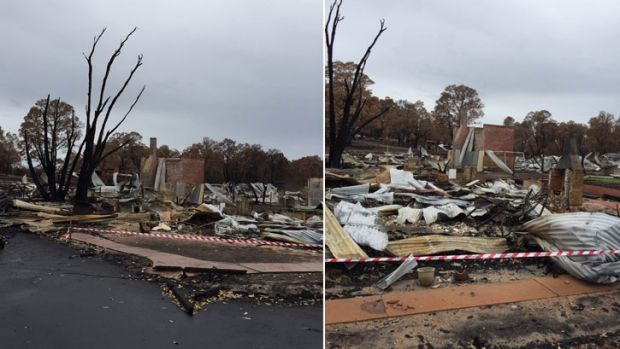 Bushfires that tore through Waroona and Yarloop left many homeless and scammers appear to be taking advantage.