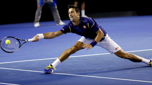Denies throwing match in 2007: Novak Djokovic beat Quentin Halys in round two of the Australian Open on Wednesday.