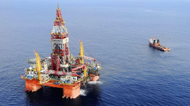 The Haiyang Shiyou oil rig.
