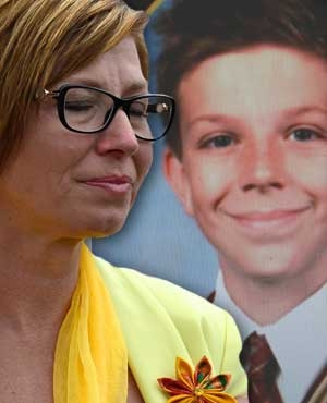 Rosie Batty and Luke Batty