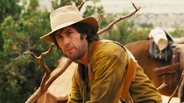 Critically trashed ... Adam Sandler in <i>The Ridiculous Six</i>.