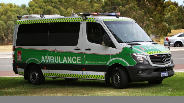 A Landsdale man has been rushed to hospital with serious head injuries.