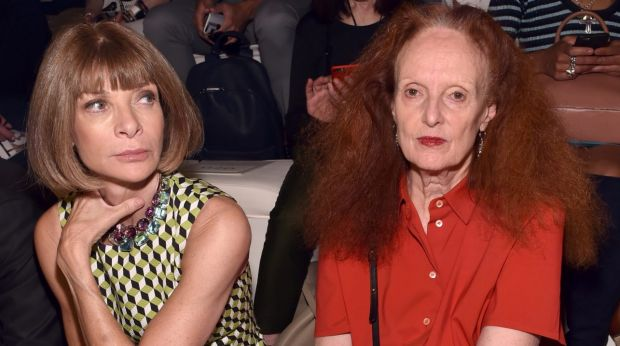 Anna Wintour's right-hand woman Grace Coddington will take a back seat at Vogue after assuming the role of creative ...