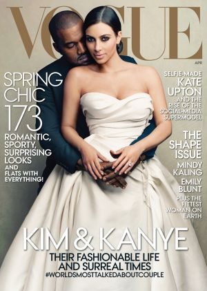 Kim Kardashian and Kanye West's Vogue cover that divided the fashion masses but was one of the magazine's most popular ...