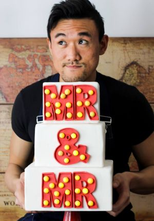 Baker Kea Thye Ko wants his cake and marriage equality in the ''Equal Love in Melbourne'' exhibition during Midsumma.