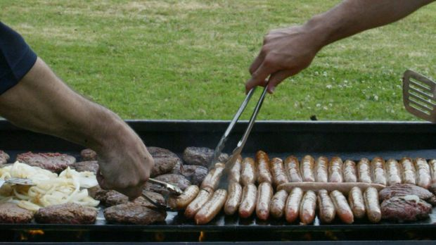 The Kujah family enjoyed a traditional barbecue at the City of Bayswater Civic Centre.