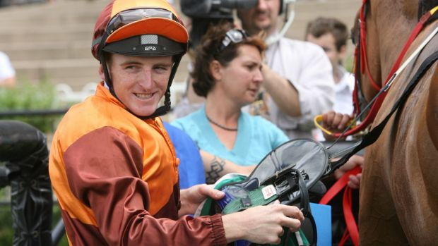 Second time round: Jockey Simon Miller is hoping to make his move to Canberra permanent.