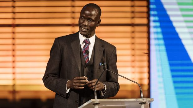 Australia Day address speaker Deng Thiak Adut.