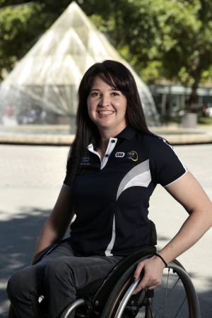 Canberra wheelchair racing competitor Angie Ballard secured a qualifying time for the 2016 Paralympics.