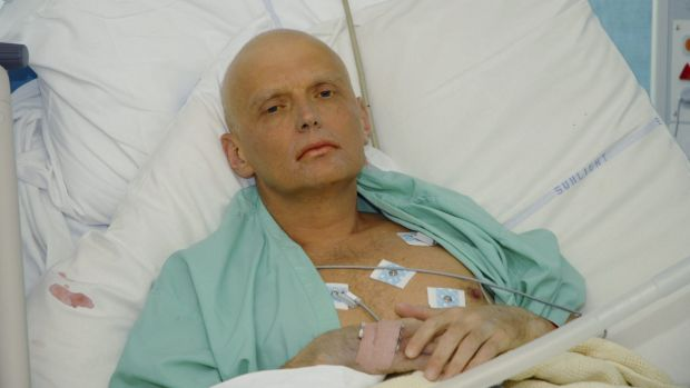 Alexander Litvinenko lies in a London hospital in November 2006, dying of radiation poisoning. In 2014, the British ...