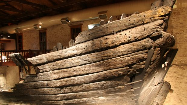 The hull of the Batavia.