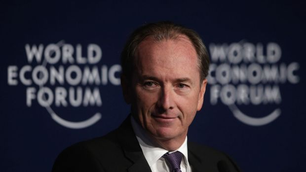 James Gorman, chief executive officer of Morgan Stanley, worked to secure the payment with US government officials over ...