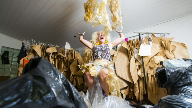 Australian fashion icon Jenny Bannister is in the middle of the clean-out of a lifetime.