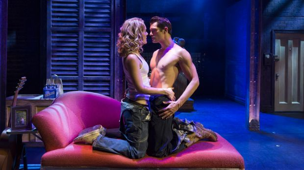 <i>Ghost the Musical</i>, starring Rob Mills as Sam Wheat and Jemma Rix as Molly Jensen, is high on drama, with lots of ...