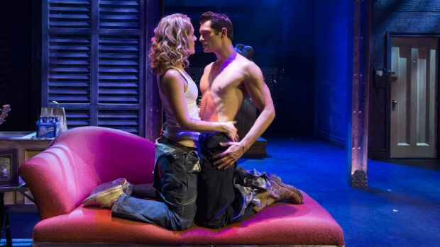 <i>Ghost the Musical</i> has Rob Mills as Sam Wheat and Jemma Rix as Molly Jensen.