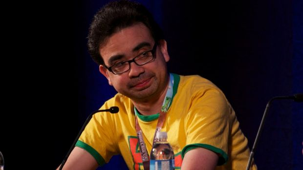 Gus Sorola, director and co-founder of Rooster Teeth.