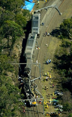 The Waterfall accident in January 2003 claimed the lives of six passengers and the train driver.