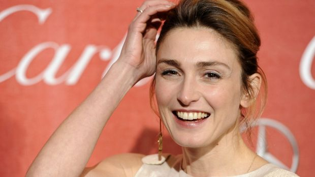 French actress Julie Gayet at the 2012 Palm Springs International Film Festival Awards Gala.