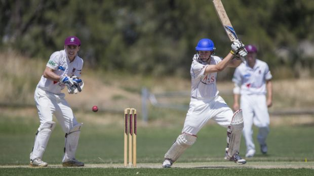 Lessons learnt: Queanbeyan batsman Henry Hunt gained a lot from being Australia's 13th man in Wednesday night's one-day ...