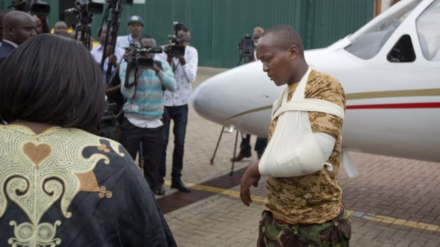 A Kenyan soldier, who Kenya Defence Forces said was injured in the attack by al-Shabab in Somalia earlier this week, ...