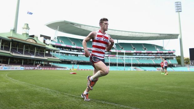 New deal: Sydney's Luke Parker.