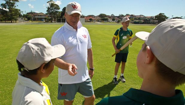 A poor shot or bad delivery is just a chance to learn something, says Steve Waugh.