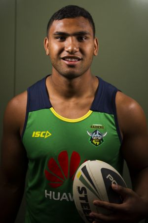 Canberra Raiders youngster Tevita Pangai looks set to join Brisbane.